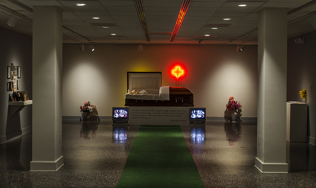 Installation View of Linda Mary Montano: The Art Life Hospital, 2019