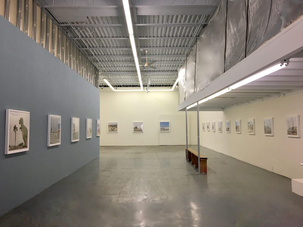Installation view of Emmanuel Monzon, Urban Sprawl Emptiness