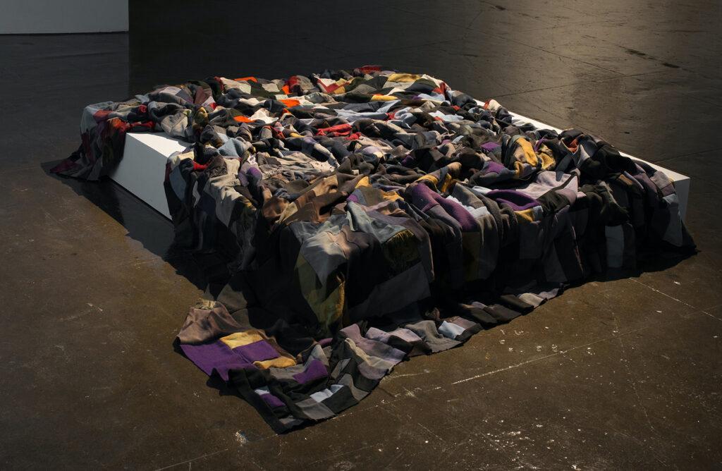 Fatma Bucak, De Silencio, 2015, installation view: Acts of Erasure, MOCA Toronto, 2020 Photo: Toni Hafkenscheid