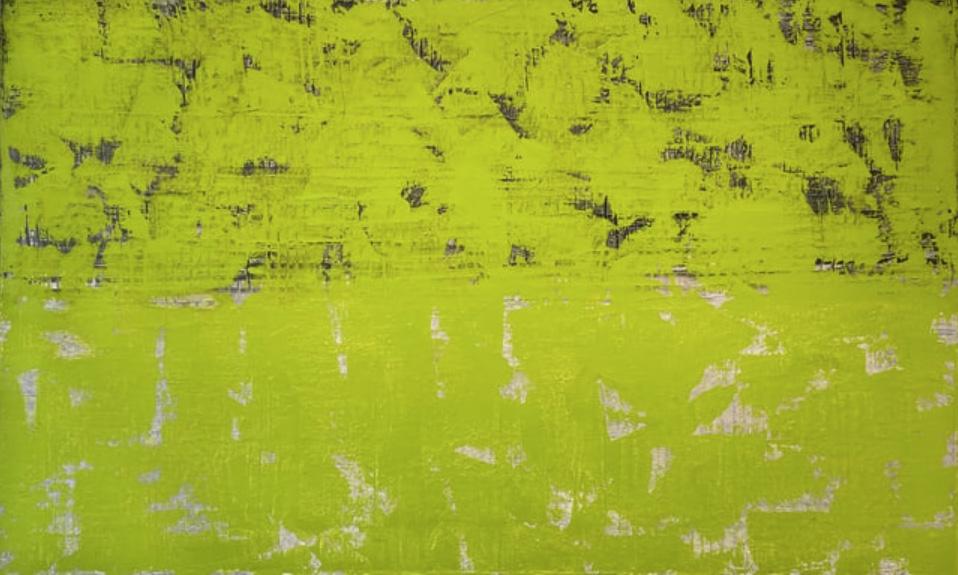 Francie Lyshak, REVOLUTION, 2020, oil on linen, 61 x 101.6 cm