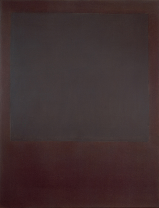 Mark Rothko, No. 5 (Untitled), oil on canvas, 90 x 69 inches, 1964, Courtesy of Mnuchin Gallery, New York