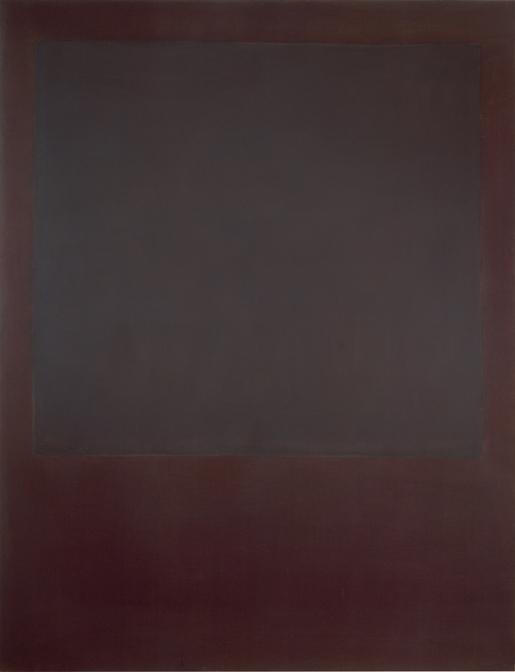 Mark Rothko, No. 5 (Untitled), oil on canvas, 90 x 69 inches, 1964, Courtesy of Mnuchin Gallery, New York