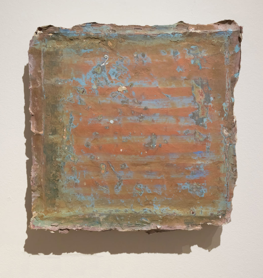 Gail Hillow Watkins, GARDEN GATE, 2017, mixed media, 12 x 12 inches