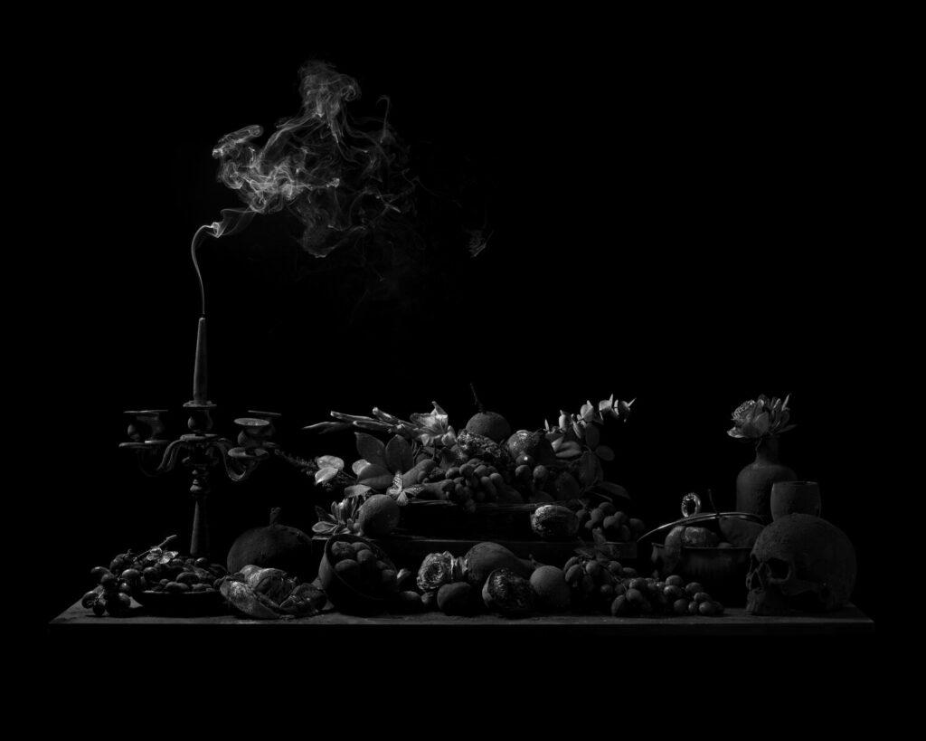 "Ryan Van Der Hout, Extinguished, 2021, Archival Pigment Print, 50"" x 40"""