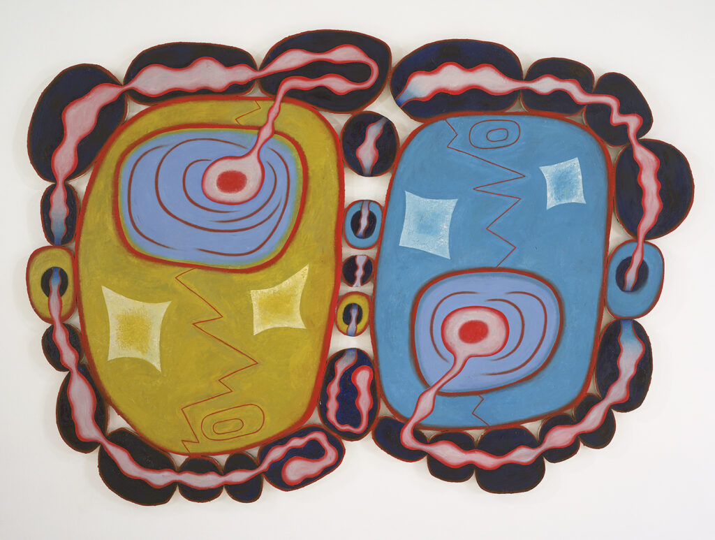 Elizabeth Murray, Midnight Special, 2000, oil on canvas, 93 x 129.5 inches