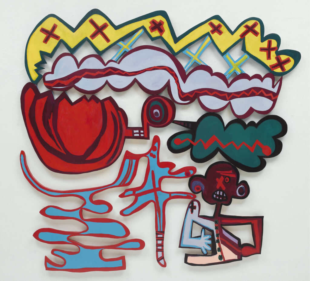 Elizabeth Murray, Everybody Knows, 2007, oil on canvas, 87.3 x 97 inches