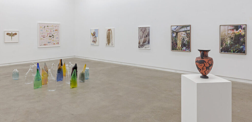 Installation view of the A Temple Most August at Clint Roenisch Gallery