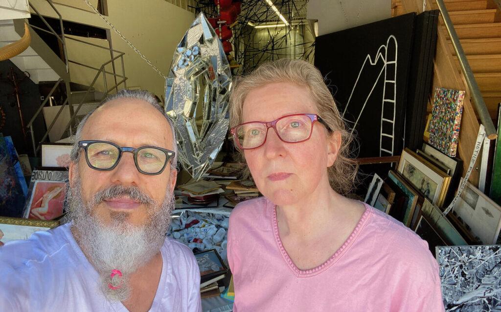 Robert Kananaj and Roberta Laking Kananaj, Directors of Robert Kananaj Gallery