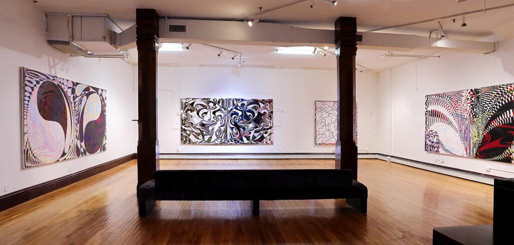 Fred Gutzeit exhibition installation view